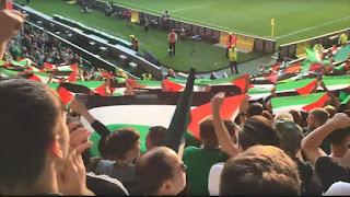 Les fans du Celtic Glasgow sont priés de ne pas brandir de drapeaux palestiniens en Israël