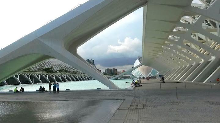 город науки и искусств океанариум Валенсия