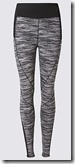 M&S Collection Sculpt Marl Legging