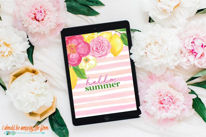Summer iPad Wallpaper