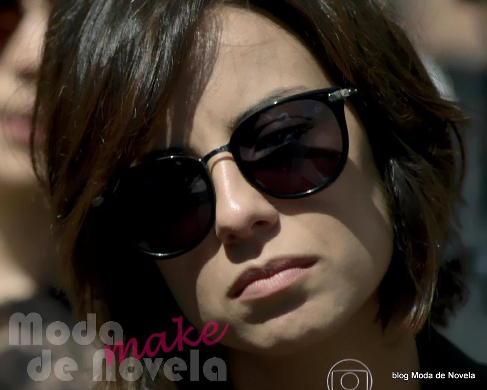 moda da novela Império, os óculos escuros da Maria Clara no enterro do comendador José Alfredo