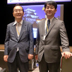 With Dr. Ozawa at JNS2012