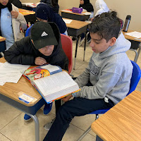 5th Grade Paired Reading (2018-19)