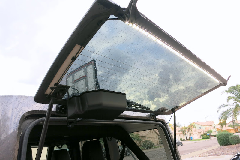 Vehicle Mounted Camp Area Light Led Strip Offroad