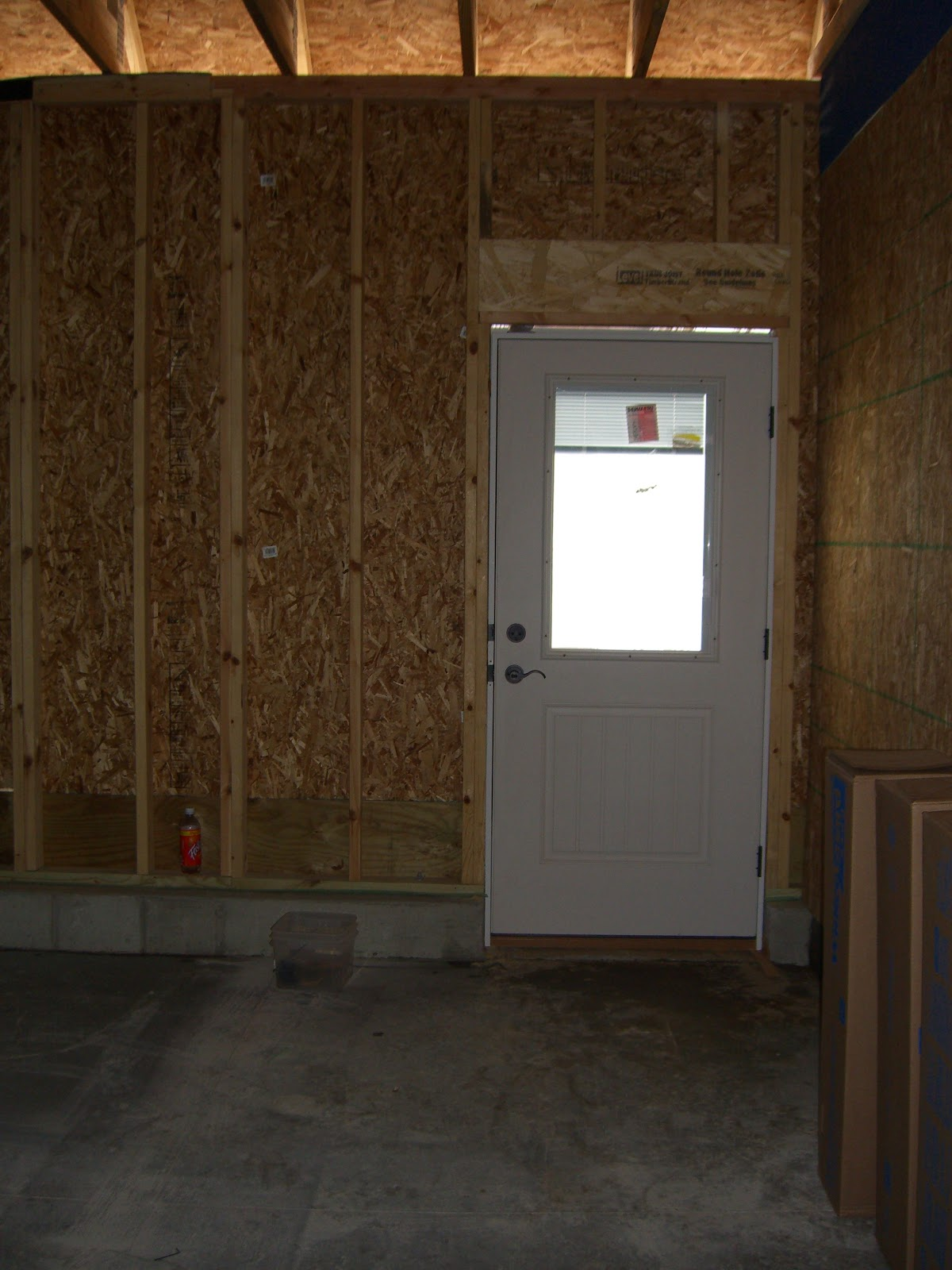 Garage back door m j altomare my outdoor shower and for Back entry doors for houses