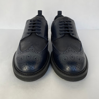 Tod's NEW Navy Blue and Black Wingtips