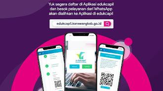 Tak Hanya Aplikasi Infoloker, Pemkab Karawang Juga Luncurkan E-Dukcapil