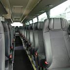 Het interieur van de Scania Touring (D)