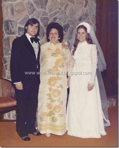 Wedding w Ruby 1974