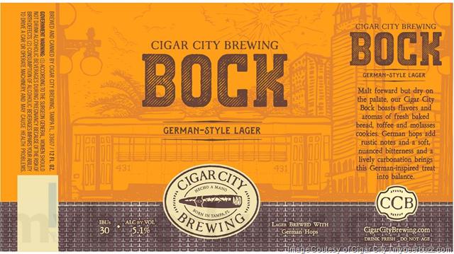 Cigar City Adding Bock Cans
