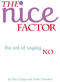 Cover of Ellen Grzyb's Book The Nice Factor The Art Of Saying No