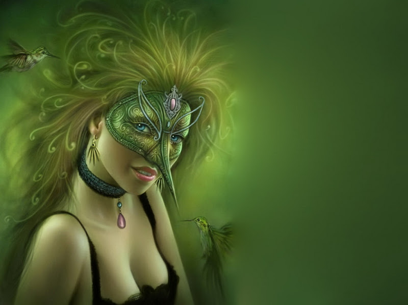 Birds Fairy, Green Witches