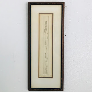 Pols Signed Etching and Mezzotint