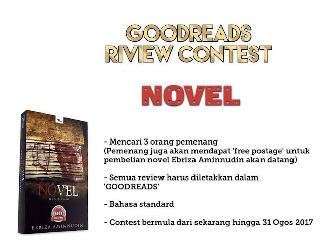 Contest : Review Novel oleh Ebriza Aminnudin