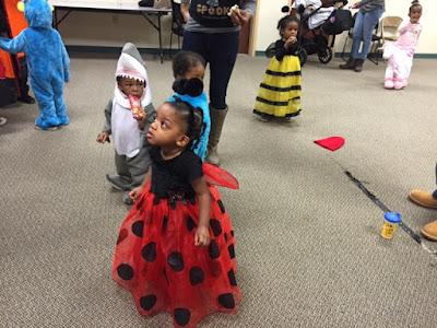 Halloween Fun The Daily April N Ava Atlanta Georgia ladybug costume