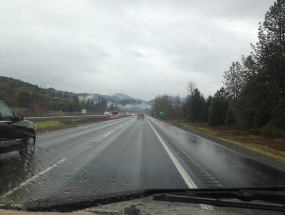 On to I-5 toward Rogue River
