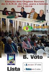 000 - Eleicao Orgaos Sociais CSRDO - 2917-2019