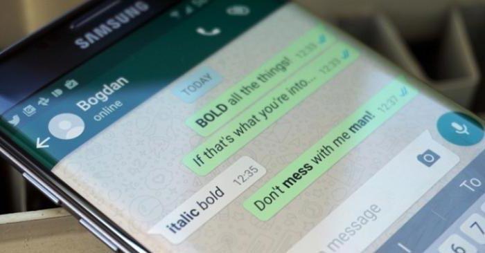 Trik Membuat Huruf Tebal, Miring, Coret di Whatsapp