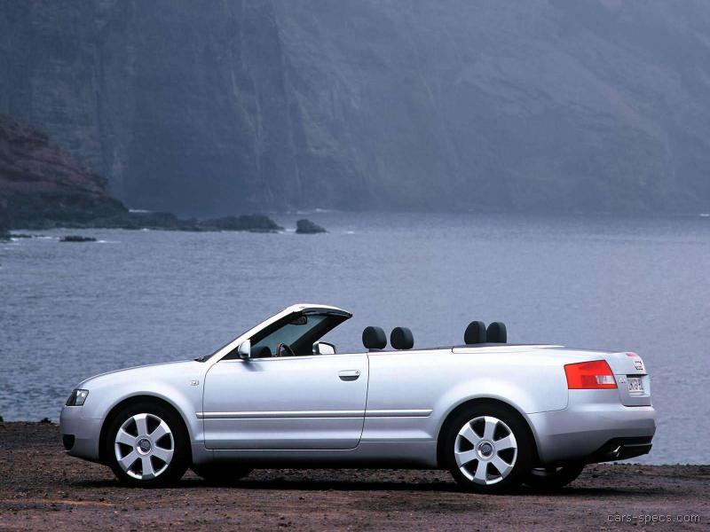 2003 audi a4 convertible specifications pictures prices. Black Bedroom Furniture Sets. Home Design Ideas