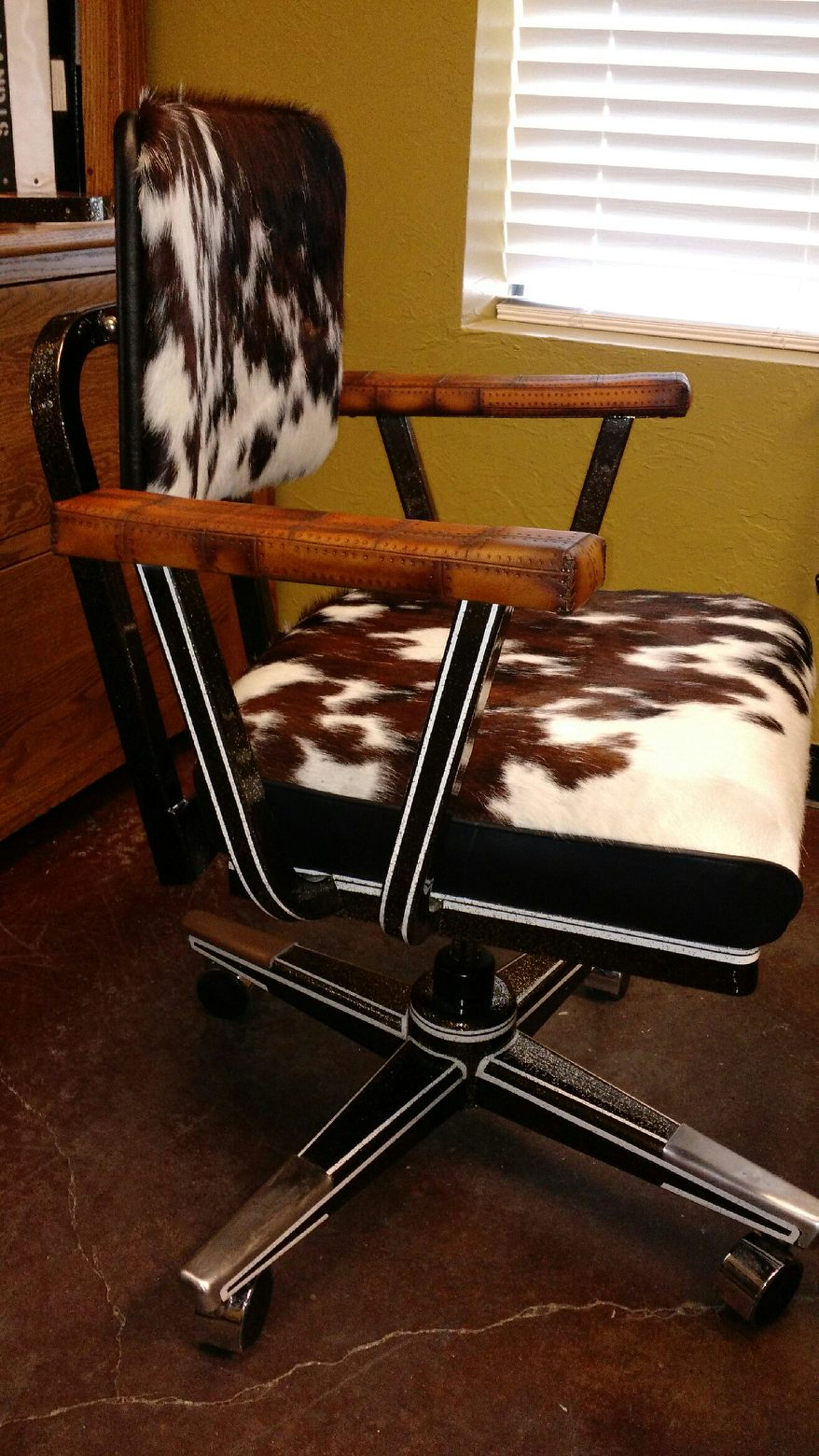 Distinct Customs Awesome Office Chair We Did Hair On