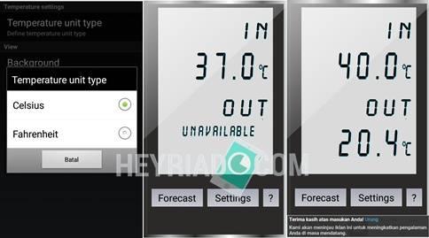 Cara mengukur suhu ruangan dikala ini sudah dapat dilakukan hanya dengan memakai aplikas Cara Mengukur Suhu Ruangan Dengan Aplikasi Termometer Andorid