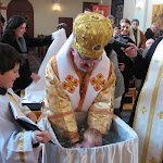 Vladyka udelil iniciačné sviatosti katechumenovi Mikulášovi