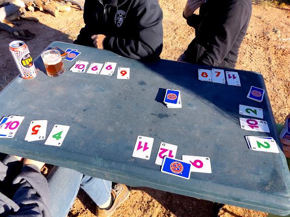A high-stakes game of Skip-Bo