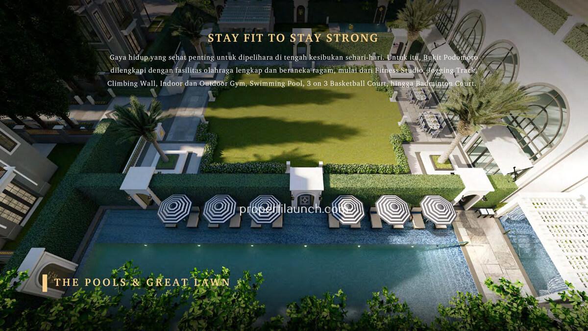 Bukit Podomoro Swimming Pool