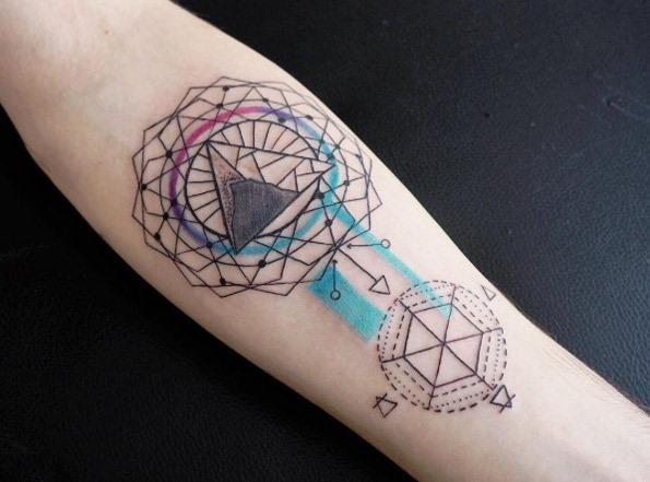 Este desenho geométrico