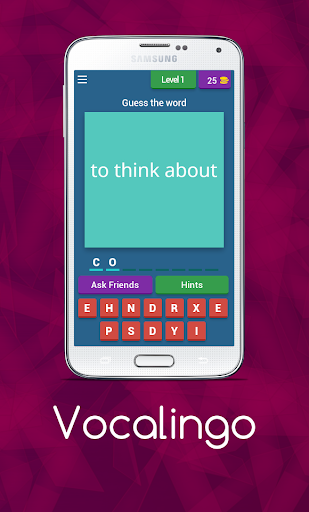 Vocalingo - English Vocabulary screenshot 1