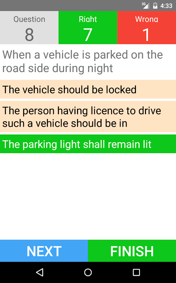 Driving Licence Test - English- screenshot