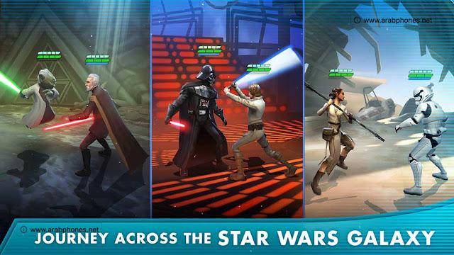 مميزات لعبة Star Wars: Galaxy of Heroes للاندرويد