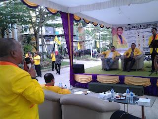Roadshow Partai Berkarya DPC Sagulung Dipadati Massa