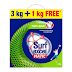 (Loot) Surf Excel Matic Top Load Detergent Washing Powder 3+1 Kg Free for Rs 49