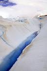 Glacial Streams (Perito Moreno Glacier Outside El Calafate, Argentina)