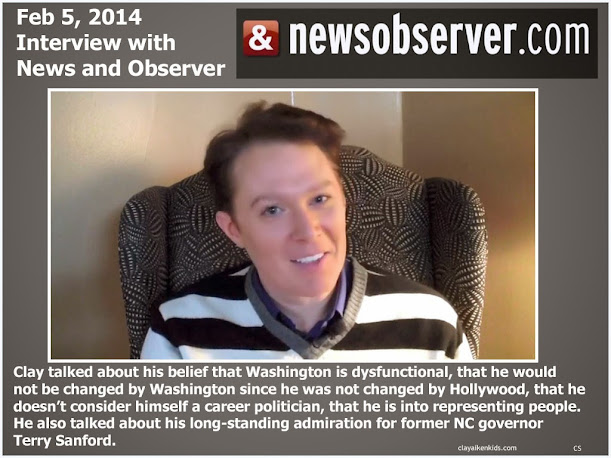 News and Observer interview