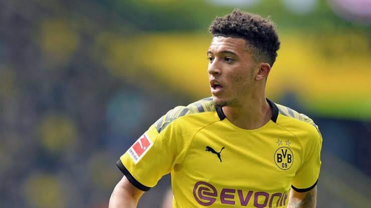 Borussia Dortmund Jadon Sancho. PHOTO | BBC