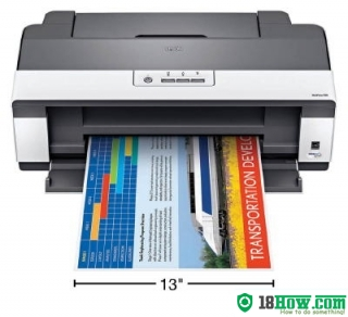 How to reset flashing lights for Epson WorkForce 1100 printer