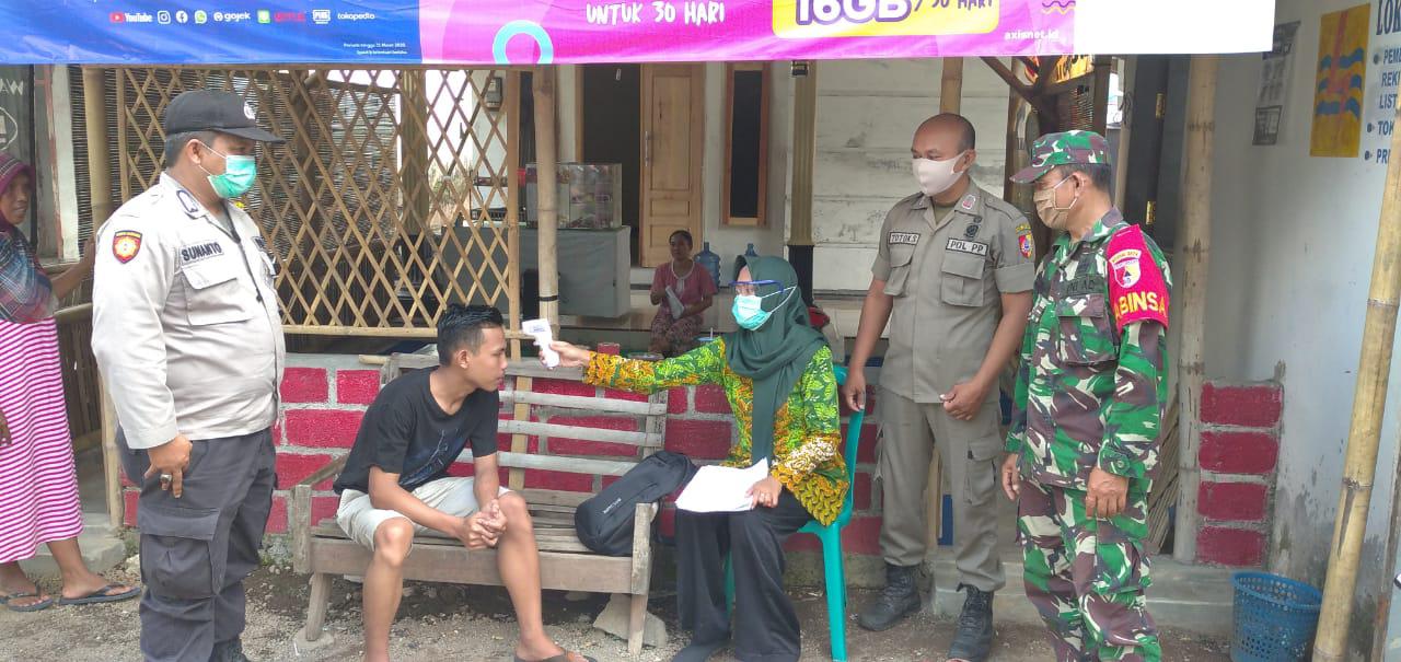 Tim Satgas Covit 19 Desa Jenggawah Kembali Cek Warga Dari Luar Kota