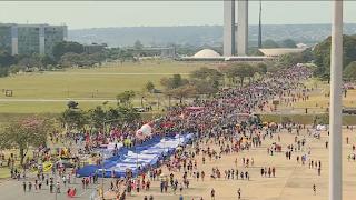 Manifestações deste sábado querem levar 1 milhão às ruas