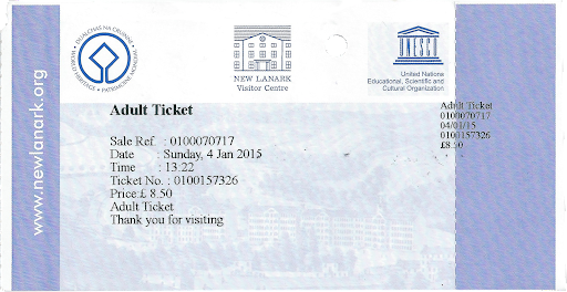New Lanark Ticket