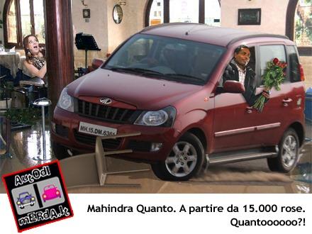 Mahindra Quanto - autodimerda.it