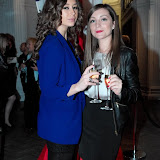 WWW.ENTSIMAGES.COM -  Carlotta Conca and Llaria Giacomazzi  at   Mitch Griffiths Iconostasis  private view at Halcyon Gallery, 144 New Bond Street May 15th 2013                                                   Photo Mobis Photos/OIC 0203 174 1069