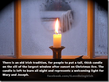 christmas eve irish tradition