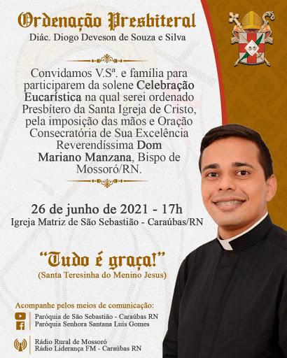 Diocese de Mossoró ganha mais um padre