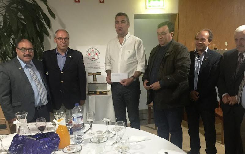 Bombeiros de Lamego recebem donativo de associação cultural americana