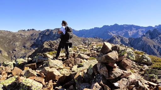 Panorama au sommet du Penne Rosse