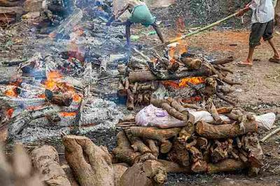 हिंदू धर्म में शव को क्यों जलाया जाता है