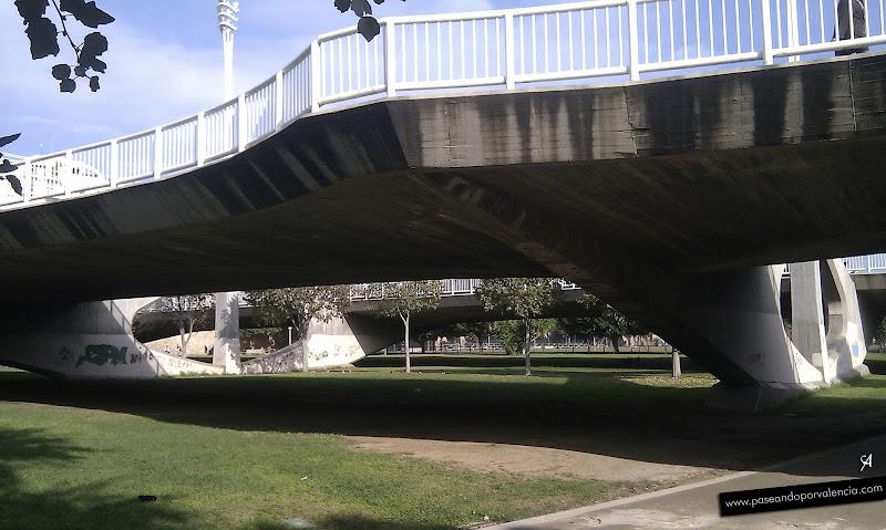 Foto del Puente de las Artes