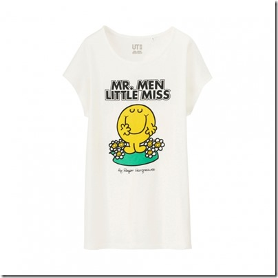 UNIQLO Mr. Men Little Miss UT Graphic T-Shirt woman 02